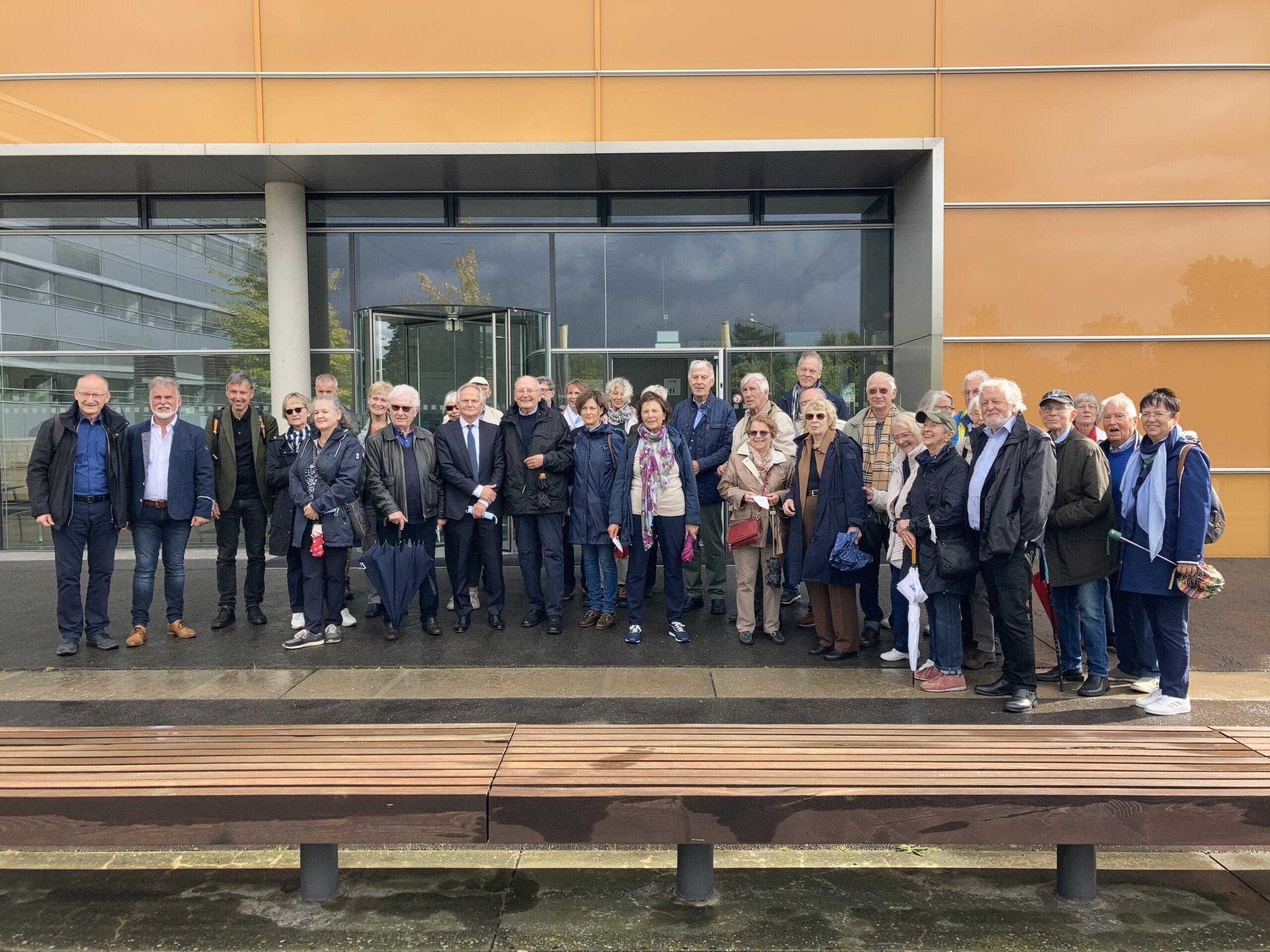 Berliner Kellerrunde mit Landrat Harald Zenker und dem Vizepräsidenten des Thüringer Landesamtes für Verbraucherschutz, Dr. Lothar Hoffmann
