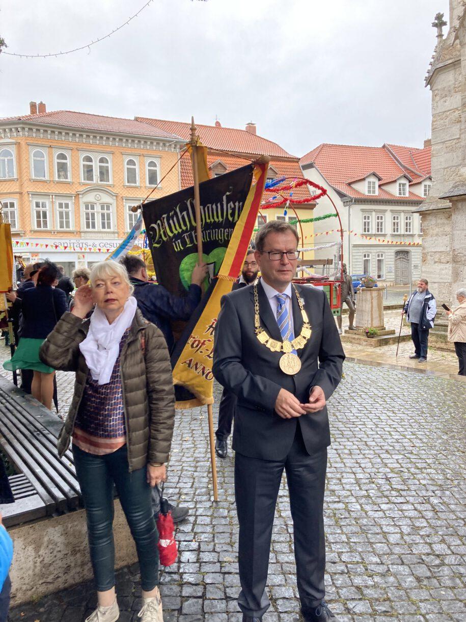 Oberbürgermeister von Mühlhausen, Dr. Johannes Bruns