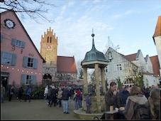 Berliner Kellerrunde auf dem Weihnachtsmarkt in Liebenberg
