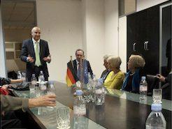 Besuch in der Botschaft der Republik Kosovo