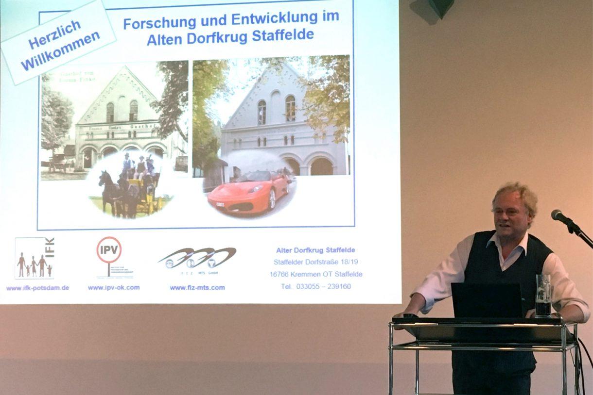 Forschung und Entwicklung im Alten Dorfkrug Staffelde