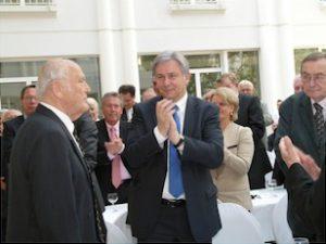 Gerhard Naulin, Klaus Wowereit, u.a.