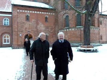 Besichtigung der Klosteranlage mit Pfarrer Paul