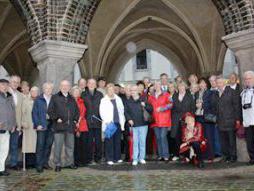 Gruppenbild der Berliner Kellerrunde in Lübeck