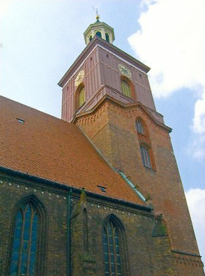 Kirchturm der Nikolaikirche