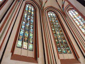 Fenster der Marienkirche in Frankfurt/ Oder