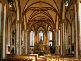 Hauptschiff der Nikolaikirche